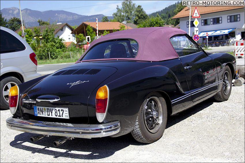 Black #VW #Karmann #Ghia #Cabrio spotted today!