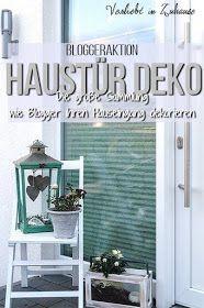 Haustür Deko: Blogger dekorieren ihren Hauseingang und zeigen Ideen für den Eingangsbereich #hausdekoeingangsbereich