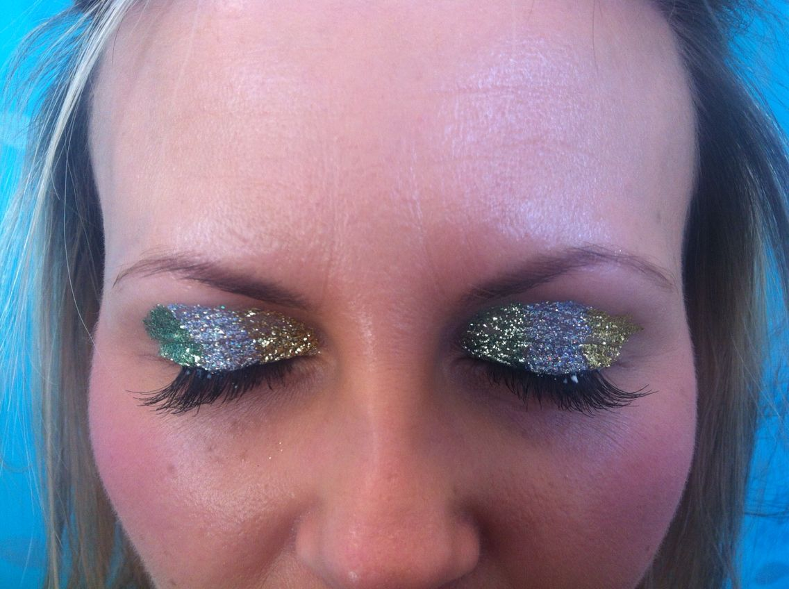 St. Patrick's day make up done in salon 085 2052600 for apt. Www.jennifersalonclonmel.com