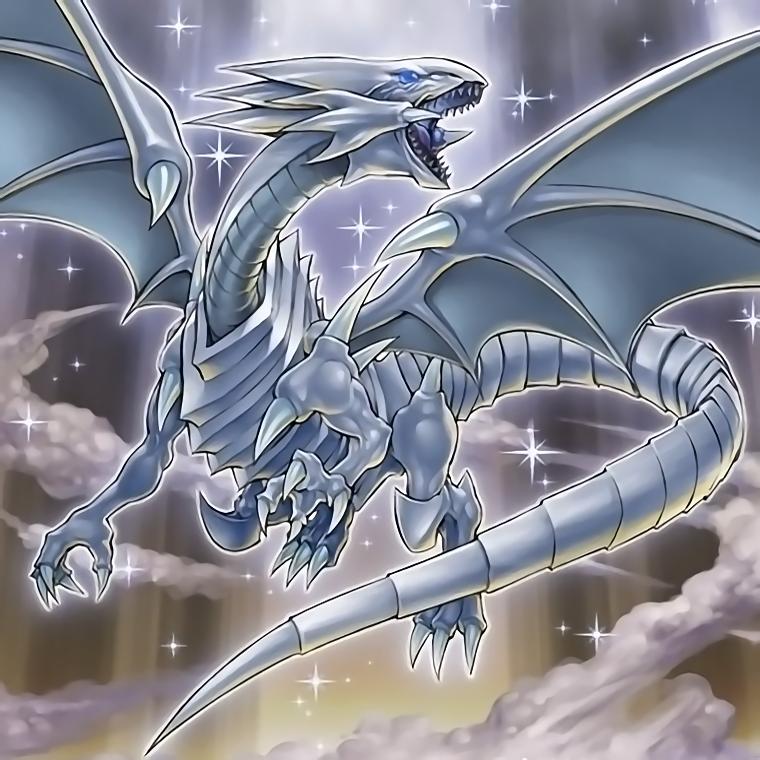 Blue Eyes White Dragon The Dark Side Of Dimension By Yugi Master Dragon Artwork Dark Side Of Dimensions White Dragon
