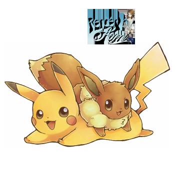 Eevee Y Pikachu Kawaii Render By Aominaito On Deviantart