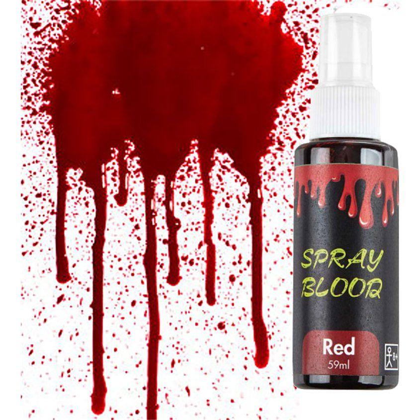 Red Spray Fake Blood Halloween Makeup 59ml (each