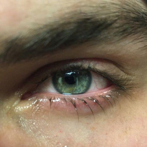 eye, eyes, and water image