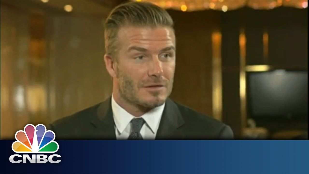Beckham teams up with Global Brands | Squawk Box | CNBC International