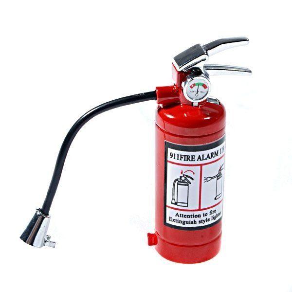 Isqueiro Recarregável e Lanterna Extintor de Incêndio - LojaTip - Loja Tip - Dicas de presentes criativos   originais