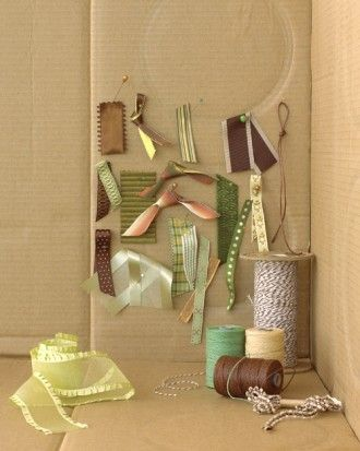 """See the """"Green and Brown Trim and Accents"""" in our Wedding Colors: Green and Brown gallery"""