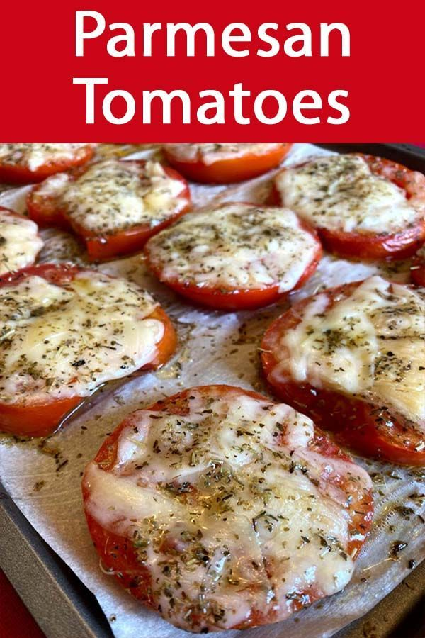 Photo of Roasted Parmesan Tomatoes