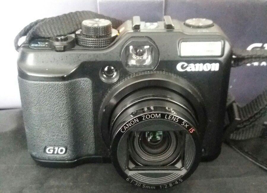 Canon Powershot G10 14mp Digital Camera Cameras Amp Photo Digital Cameras Ebay Digital Camera Powershot Canon Powershot