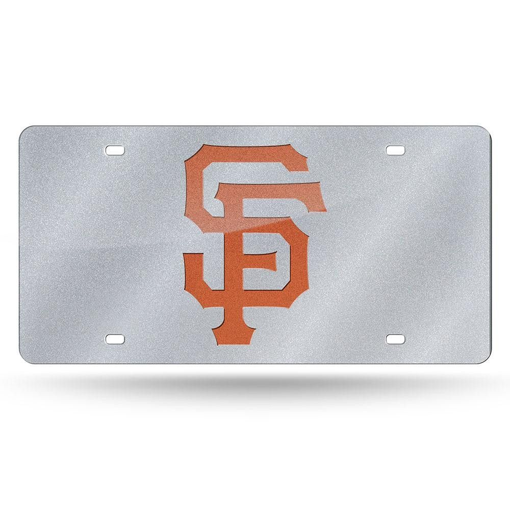 San Francisco Giants MLB Bling Laser Cut Plate Cover