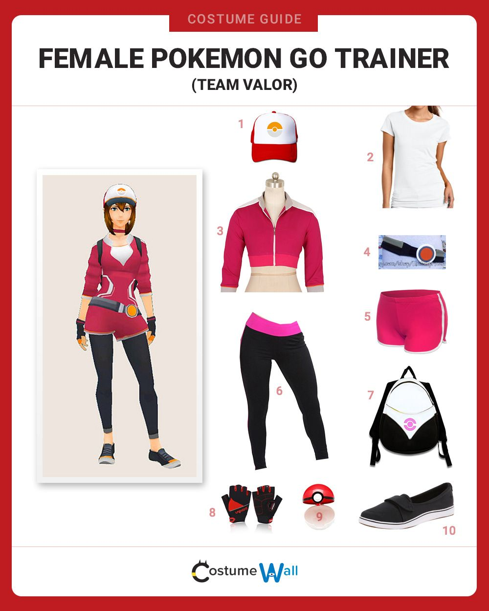 female pokemon go trainer valor pic my favorites cosplay ideen und cosplay. Black Bedroom Furniture Sets. Home Design Ideas