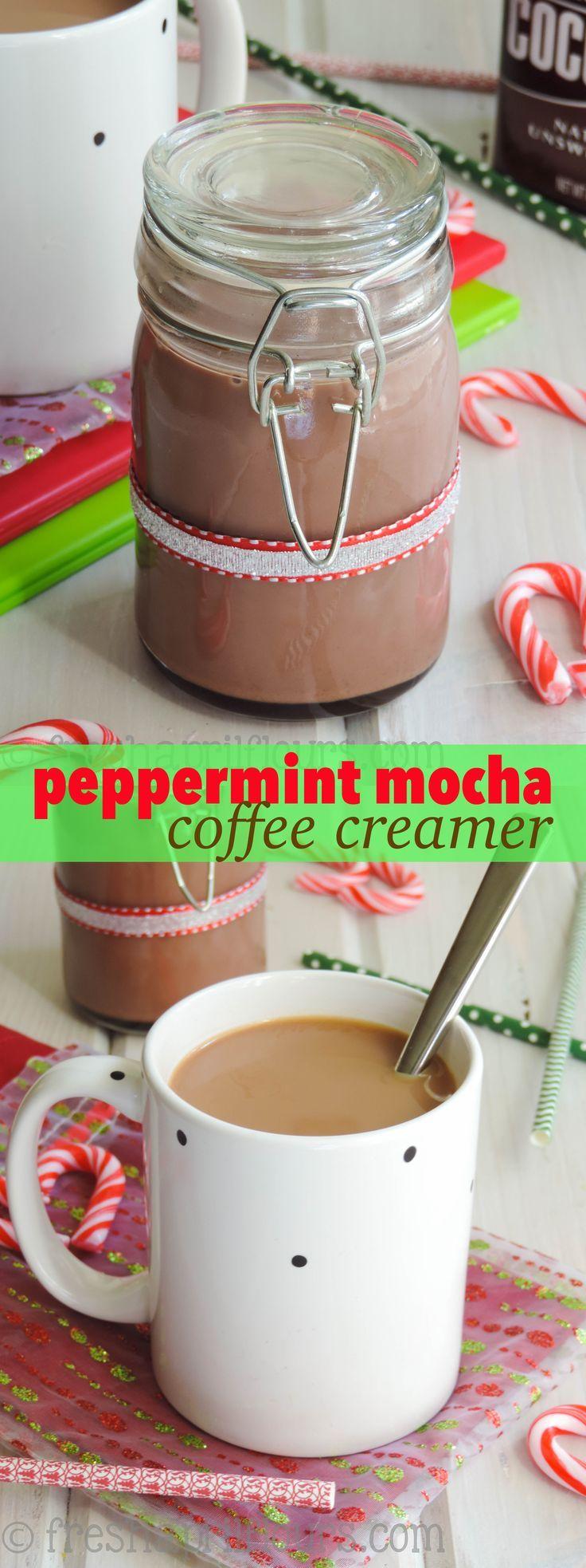 Peppermint Mocha Coffee Creamer Recipe Coffee creamer