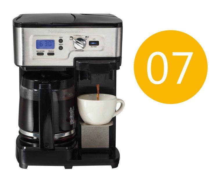 Hamilton beach coffee maker error code