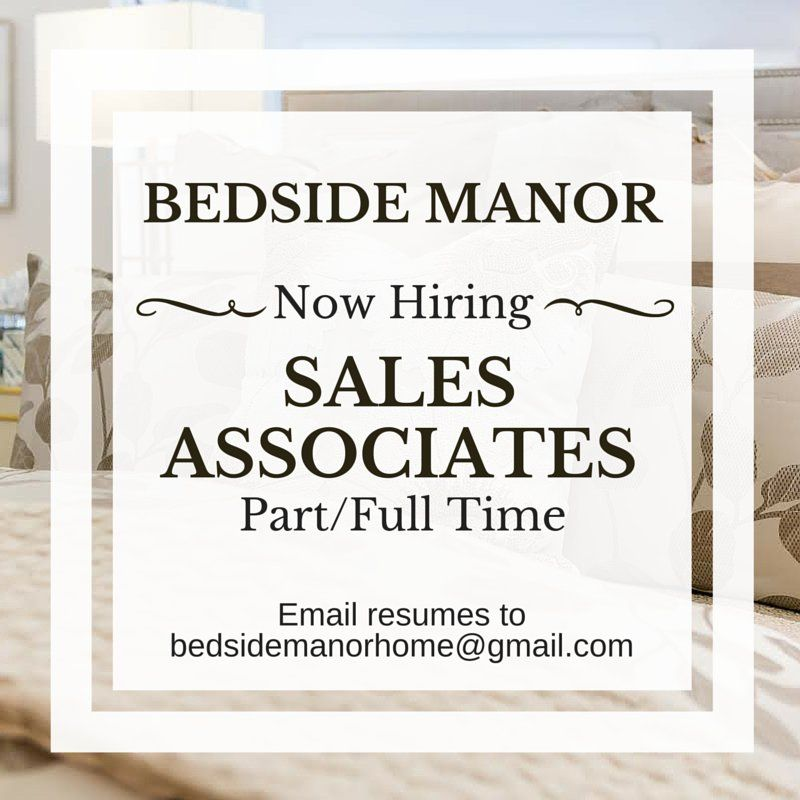 Charlotte Nc Bedside Manor Is Hiring Email Resumes To Bedsidemanorhome Gmail Specialtyssouthpark