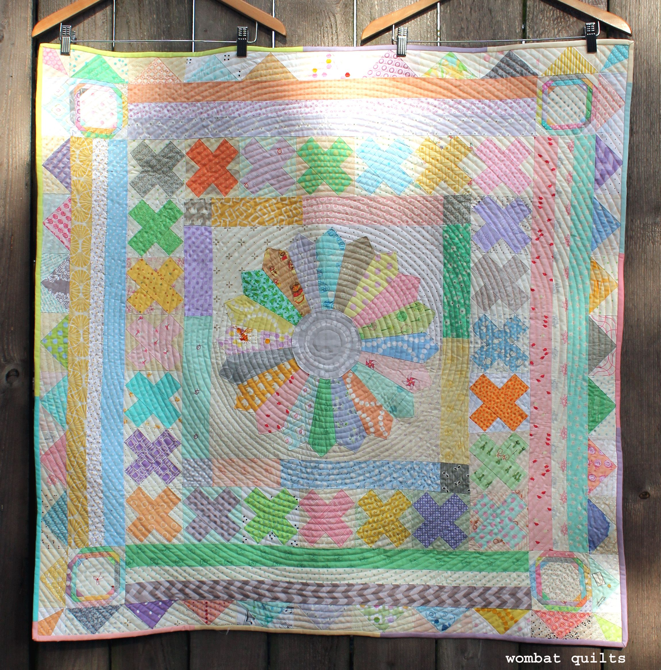 what halo thequiltshow center blocks medallion favorite bom is sue a star one learn variation this it feathered of quilt com s incorporates block the month calls