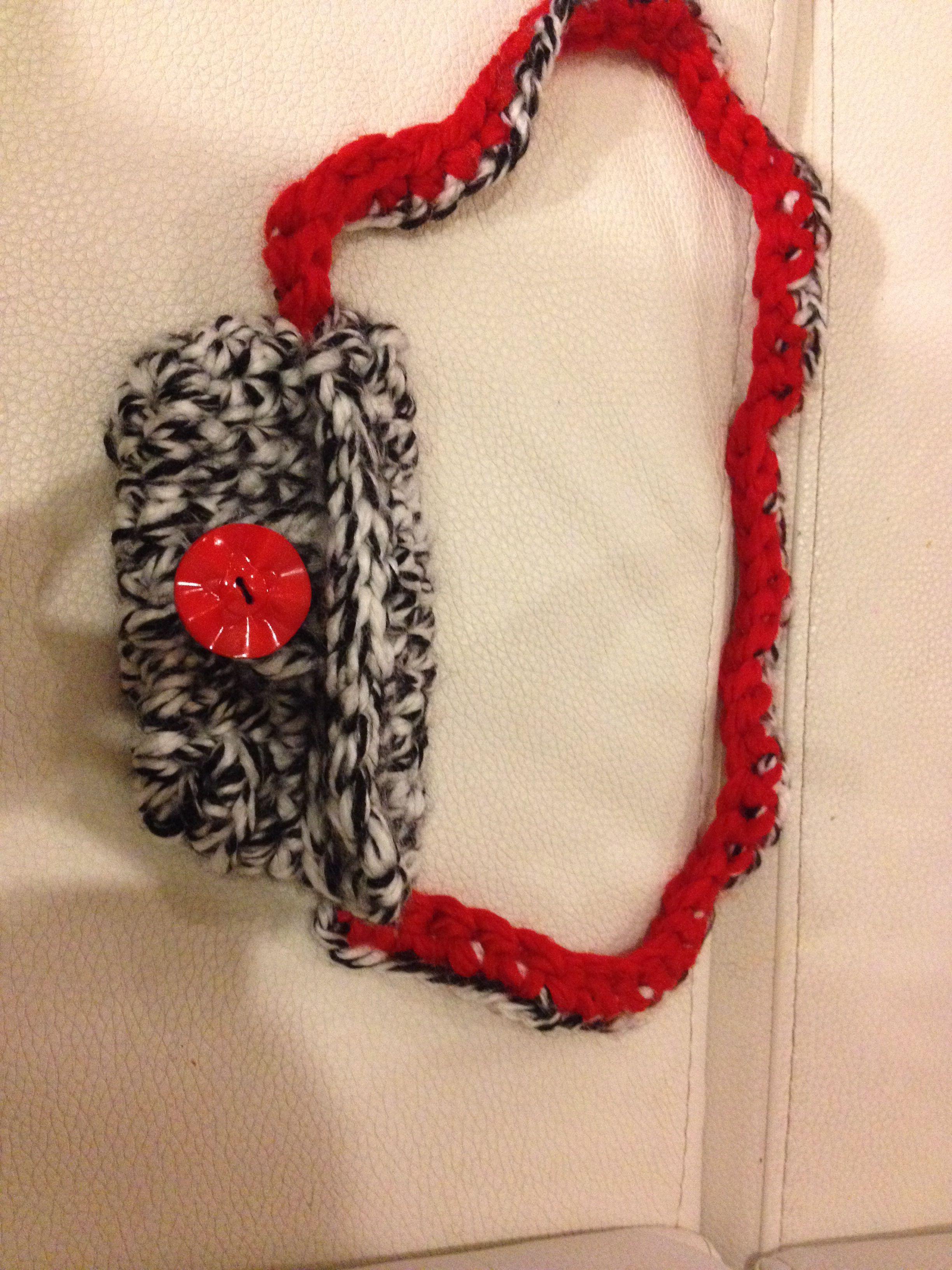 Bolso crochet niña