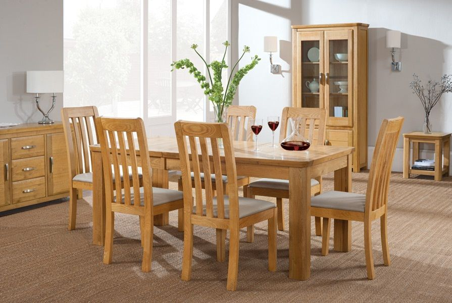 The Lazy Man S Guide To Oak Dining Room Furniture Modern Oak Dining Room Dining Room Furniture Arrangement Oak
