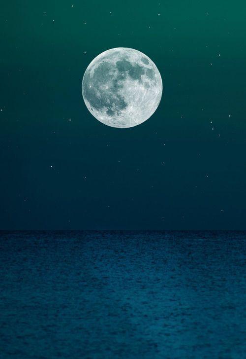 Perfect moon. ️LO