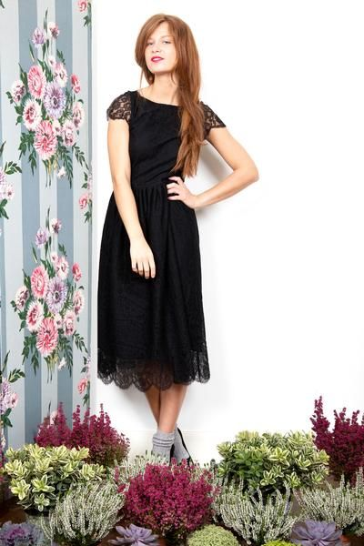 Temoin de mariage robe noire