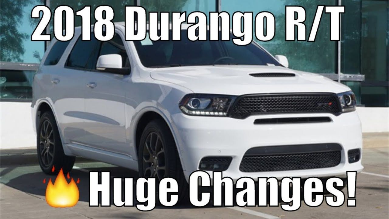 2018 Dodge Durango: Full Review >> Review 2018 Dodge Durango R T Pov 0 60 Rt Gets New