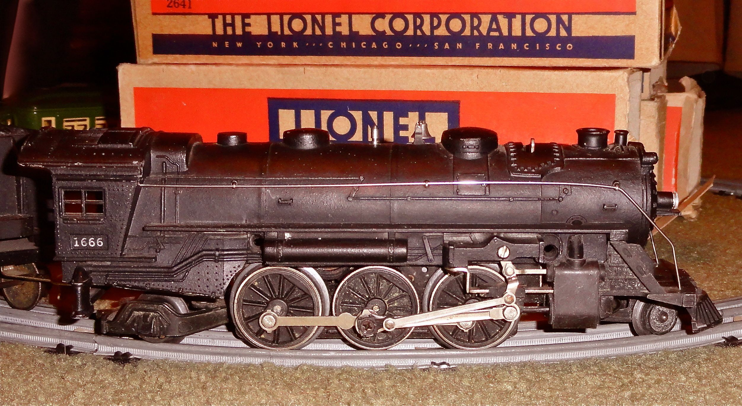 Vintage Lionel Train Sets You Can Click On The Photo To Enlarge Full Image Size