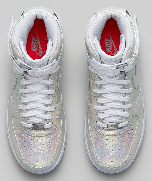new style 76450 0c56c Nike Womens Air Force 1  Iridescent Pearl  Collection - SO LOVING THESE  SNEAKERS!! (I have a similar pair which are wearing out, so these might be  a good ...