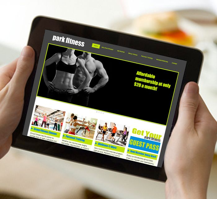 Orlando S Park Fitness Website Designed By Create180 Design For More Information On Create Portfolio Website Design Digital Marketing Agency Website Design