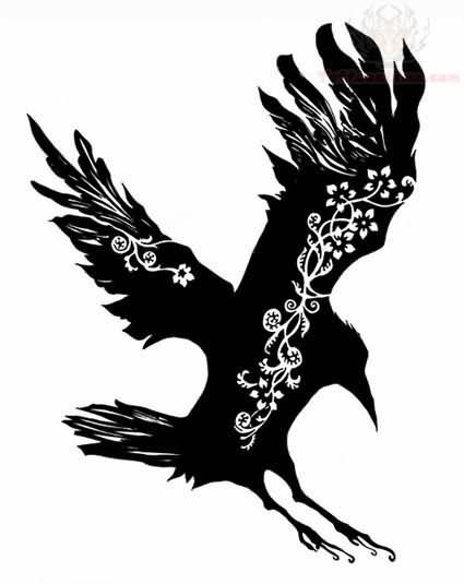 Celtic Crow Tattoo Meaning : celtic, tattoo, meaning, Sitting-celtic-crow-tattoo-design.jpg, (425×535), Tattoo,, Tattoo, Design,, Meaning