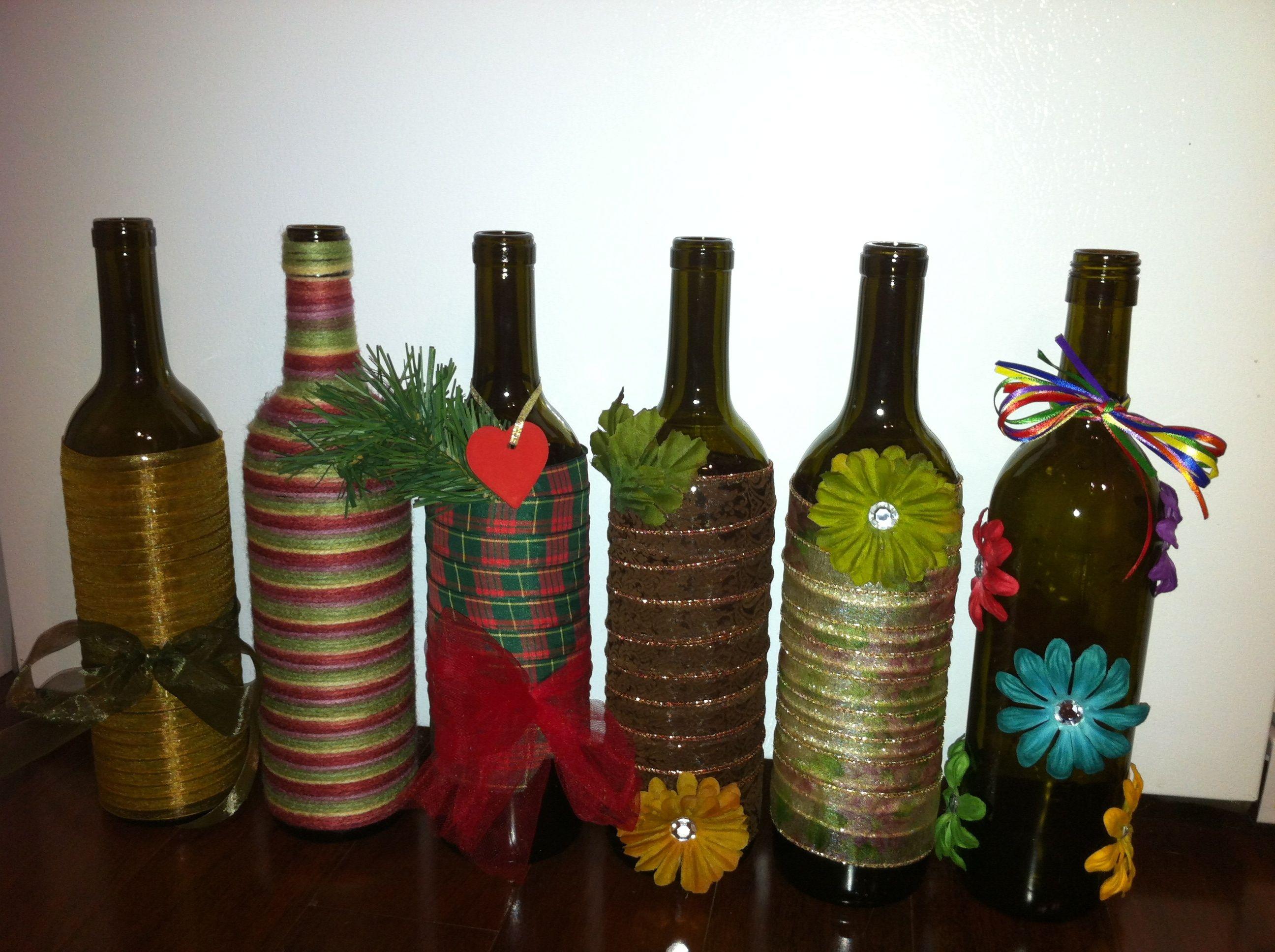 DIY decorative wine bottles Tips