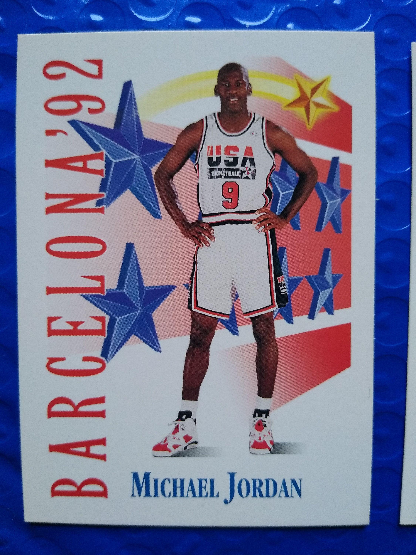 199192 skybox basketball team usa michael jordan 534 hall