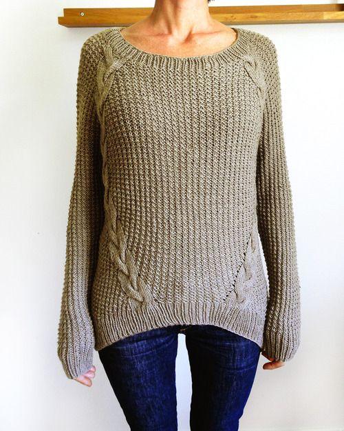 Cable Knit Sweater Patterns A Knitting Blog Knits Pinterest