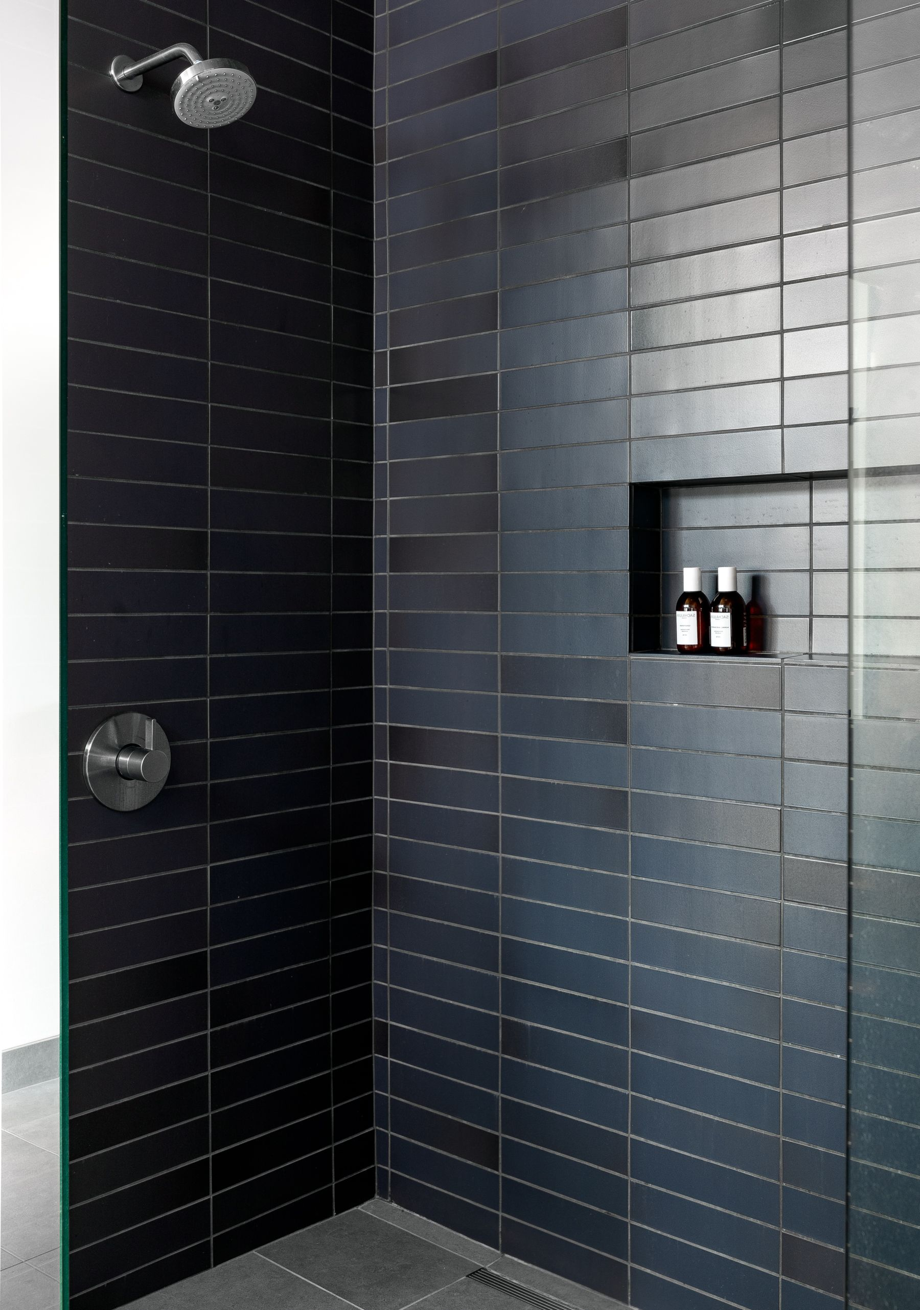 Modern Moody Shower Heath Ceramic Tile Modern Shower Tile Modern Bathroom Cabinets Ceramic Tile Bathrooms