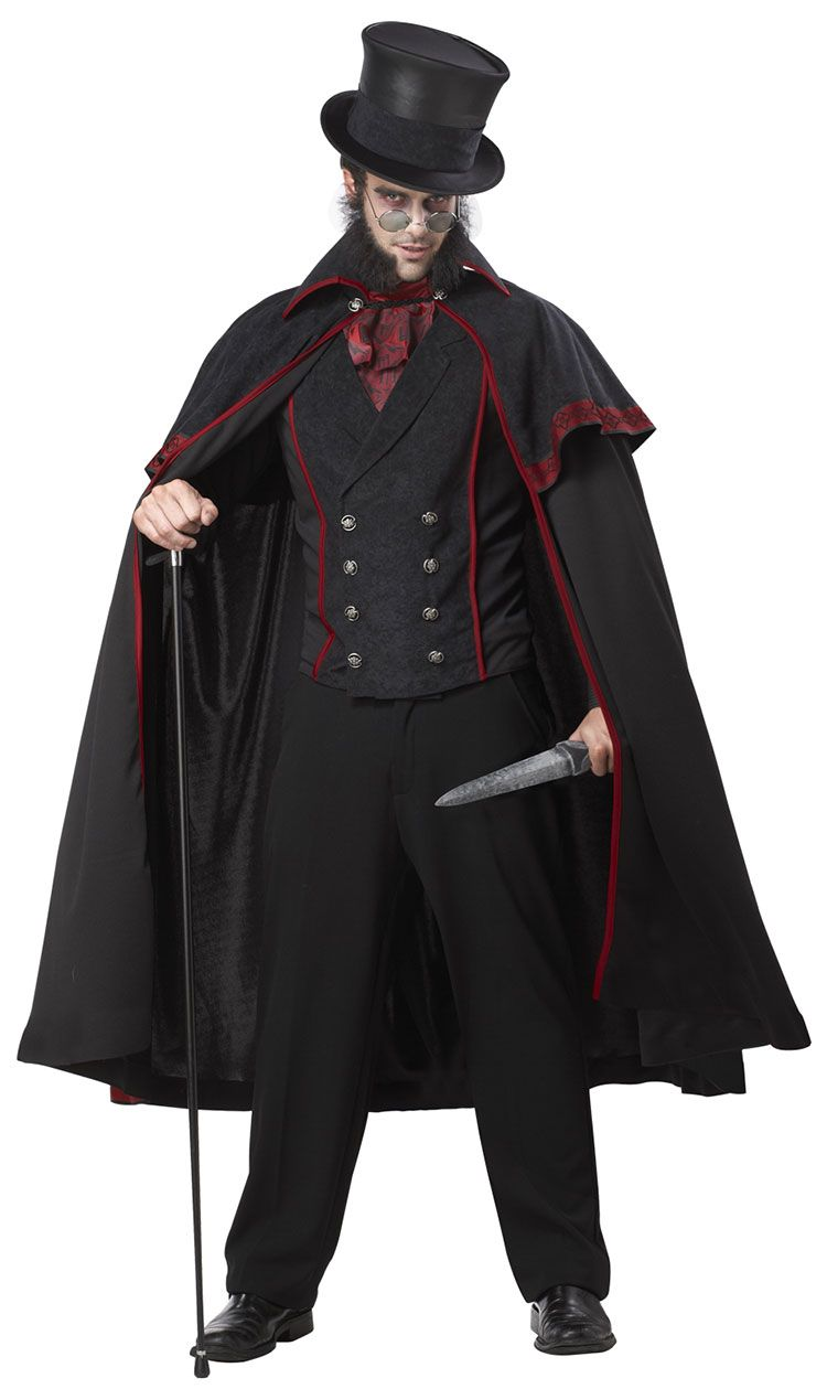 Jack The Ripper Adult Costume $60. Halloween Horrors in Victorian ...