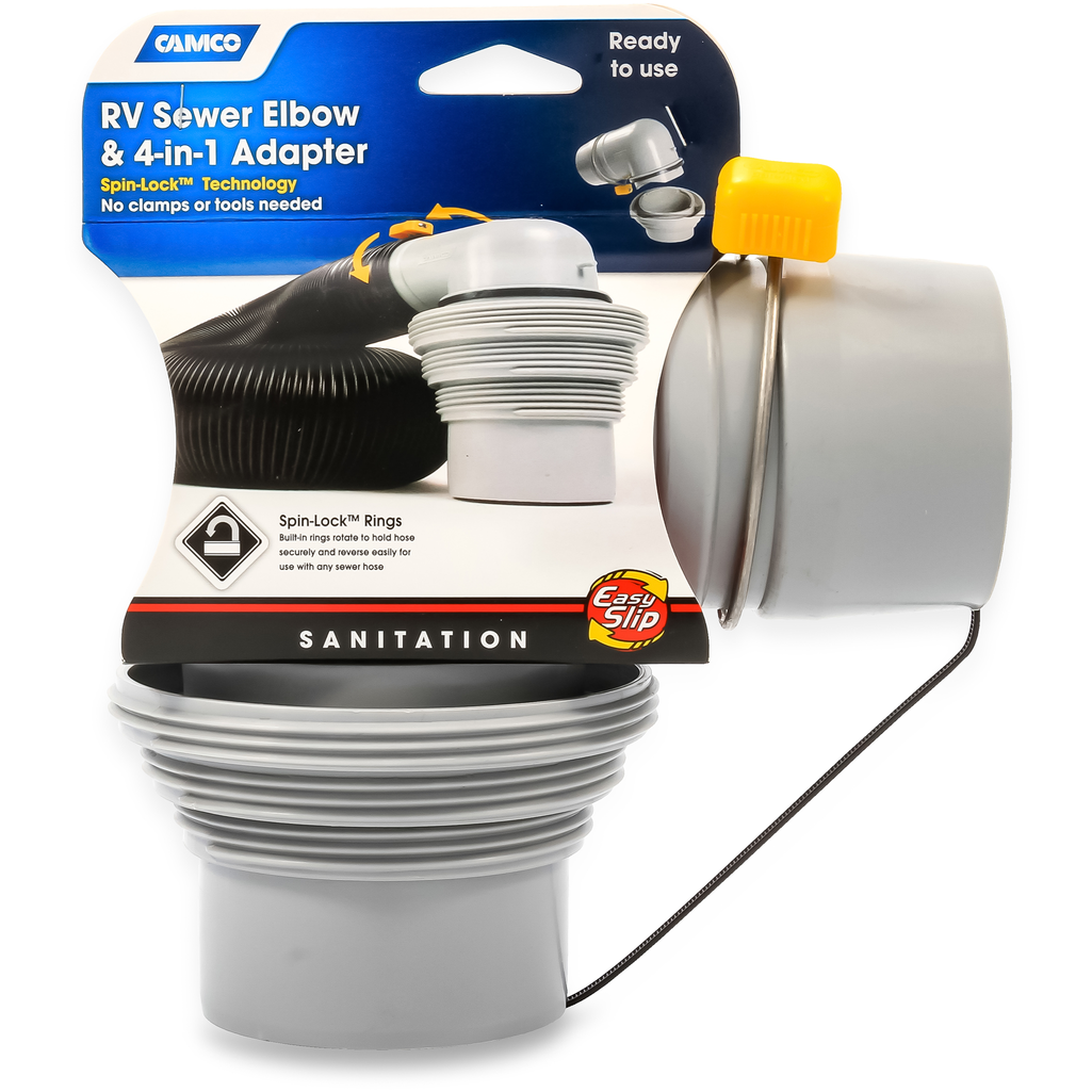 Camco easy slip in sewer adapter retirement pinterest rv