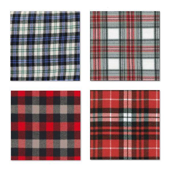 des tissus tartan cossais carreaux en coton pour se faire un plaid une charpe un noeud. Black Bedroom Furniture Sets. Home Design Ideas