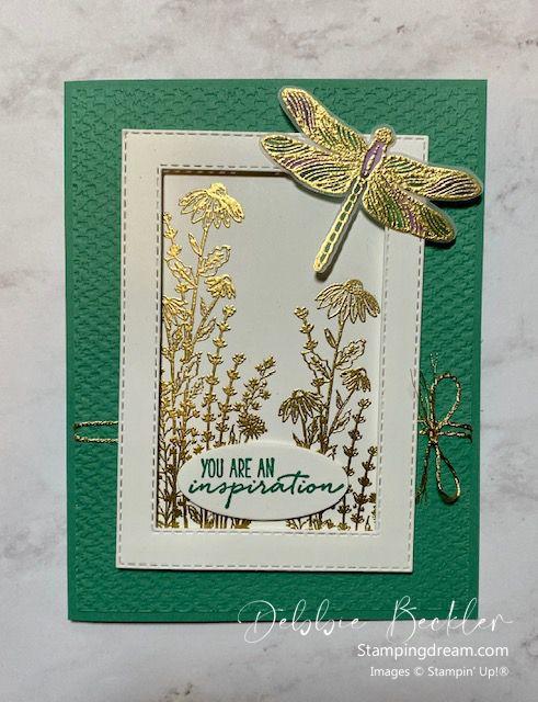 Dragonfly Garden • Stamping Dream Dragonfly Garden