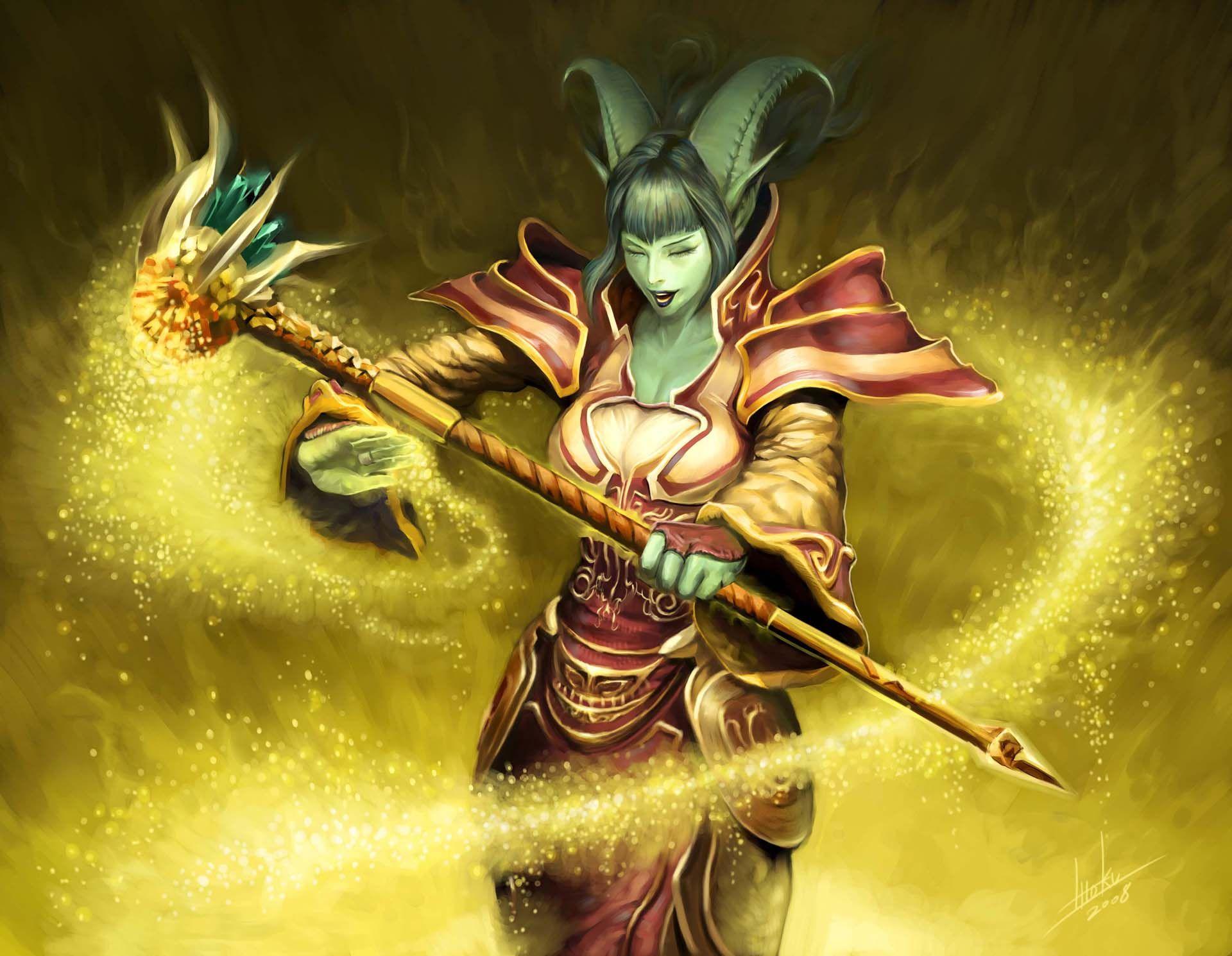 Roller skates tcg - Ninoo Of The Light World Of Warcraft Trading Card Game Drums Of War