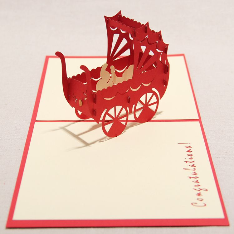 Pop Up Birthday Cards For Boys Wholesale Greeting Cards Baby Congratulations Card