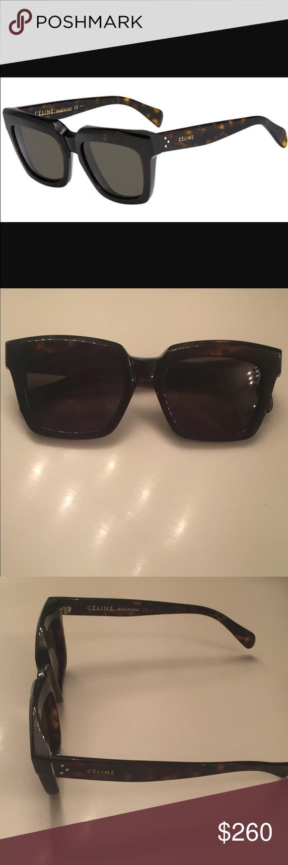 fd1084b51ae Celine sunglasses CELINE traveller sunglasses brown cl 41023 S. Like new!  No case included( sorry 😢) Celine Accessories Sunglasses
