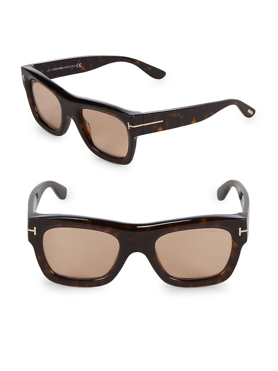 d839f88d68ca Tom Ford 52MM Square Sunglasses