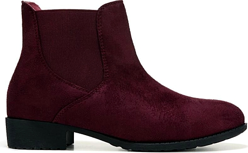 Compare Prices on the Propet Women's Scout-X-Wide Booties Shown in Burgundy  #