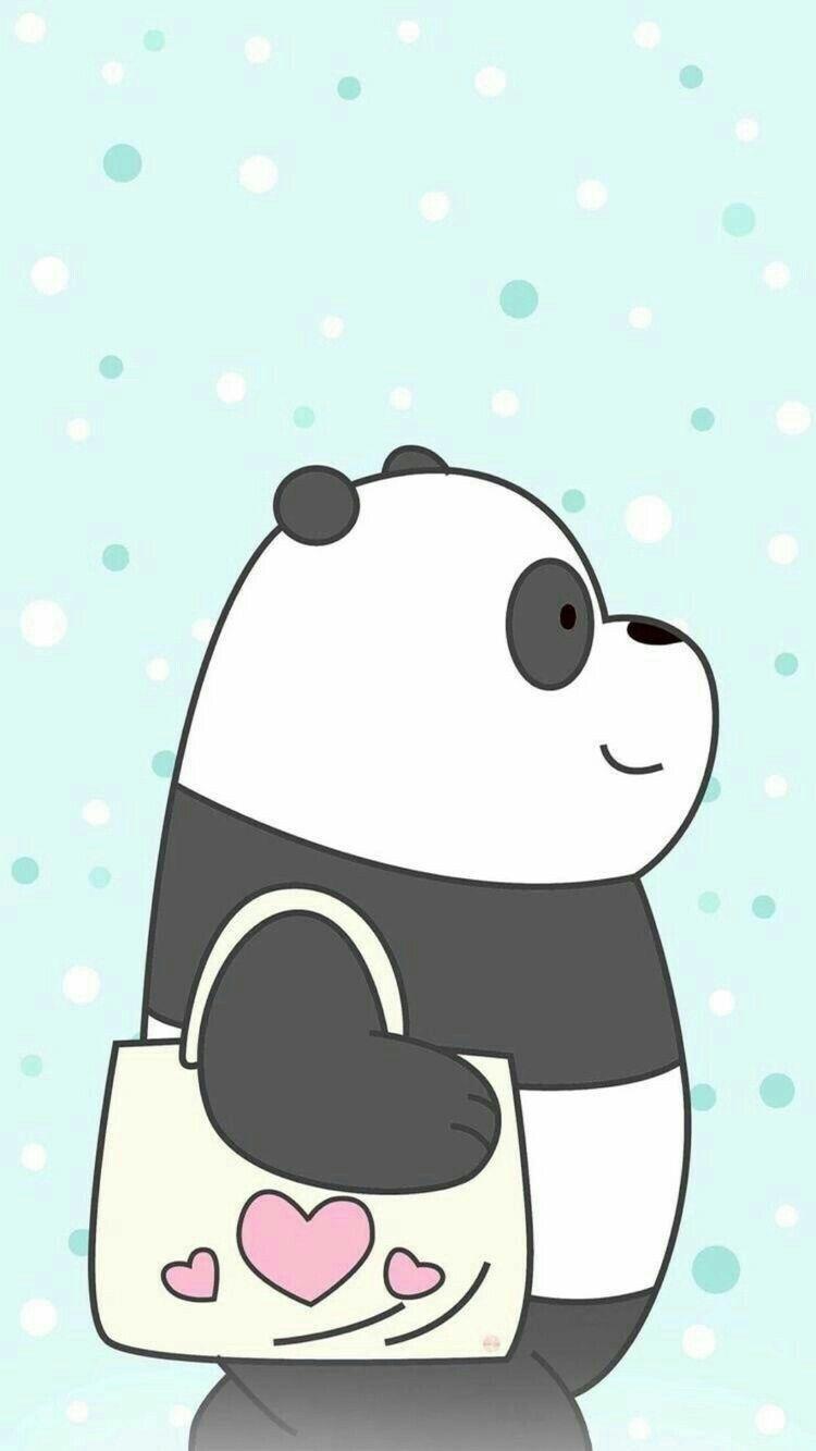 We Bare Bears Wallpaper Characters Games Baby Bears Episodes Ilustrasi Karakter Boneka Hewan Kartun