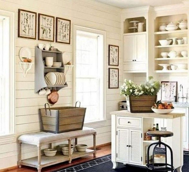 30 stunning farmhouse kitchen decorating ideas rustic