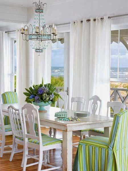 Coastal Dining Room | Jane Coslick