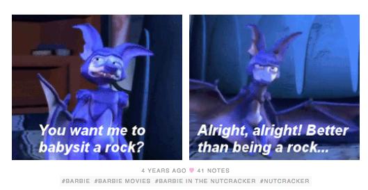 Funny Moments Pimp The Bat In Barbie In The Nutcracker