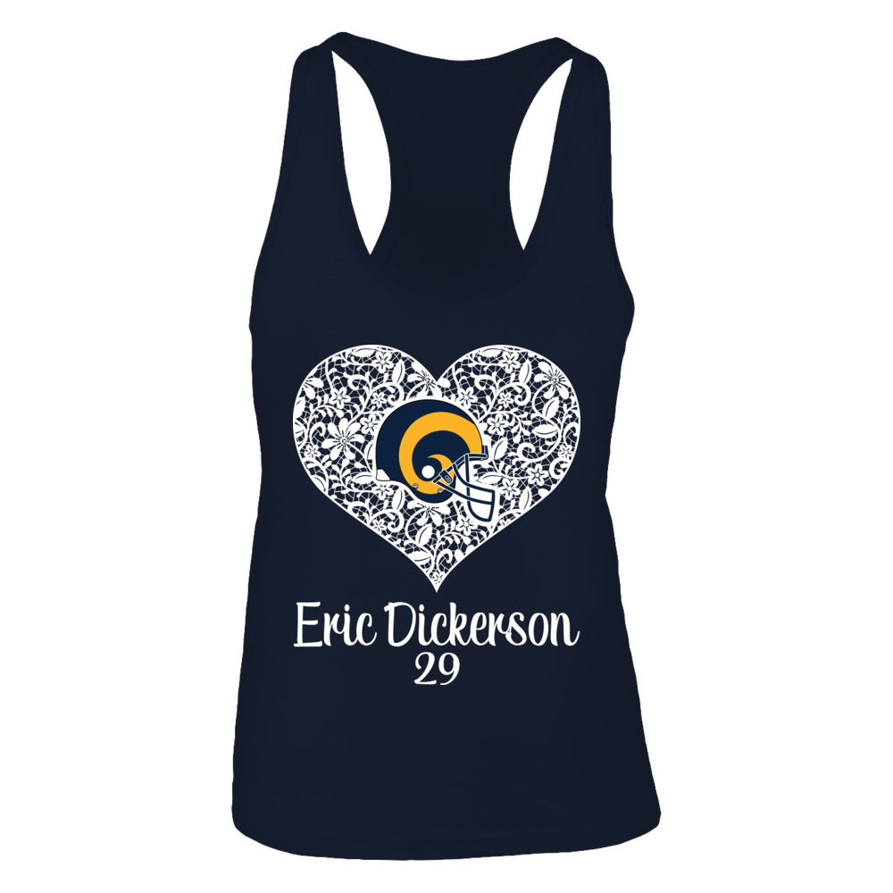 Nt8an3 Athletic tank tops, Eric dickerson, Heart logo