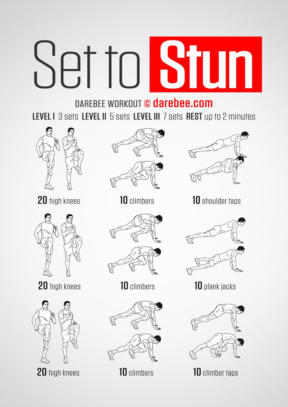 Set to Stun Workout | crossfit workouts | crossfit workouts by Blake ...