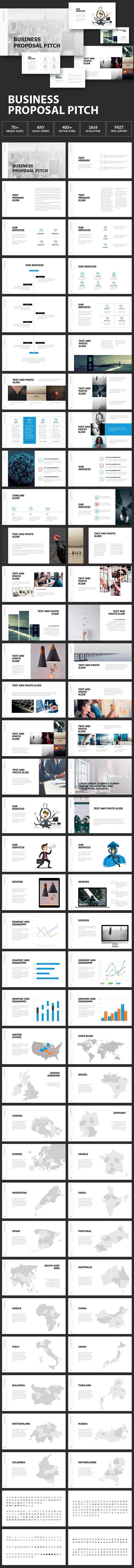 Business Proposal Pitch | Business proposal, Business powerpoint ...
