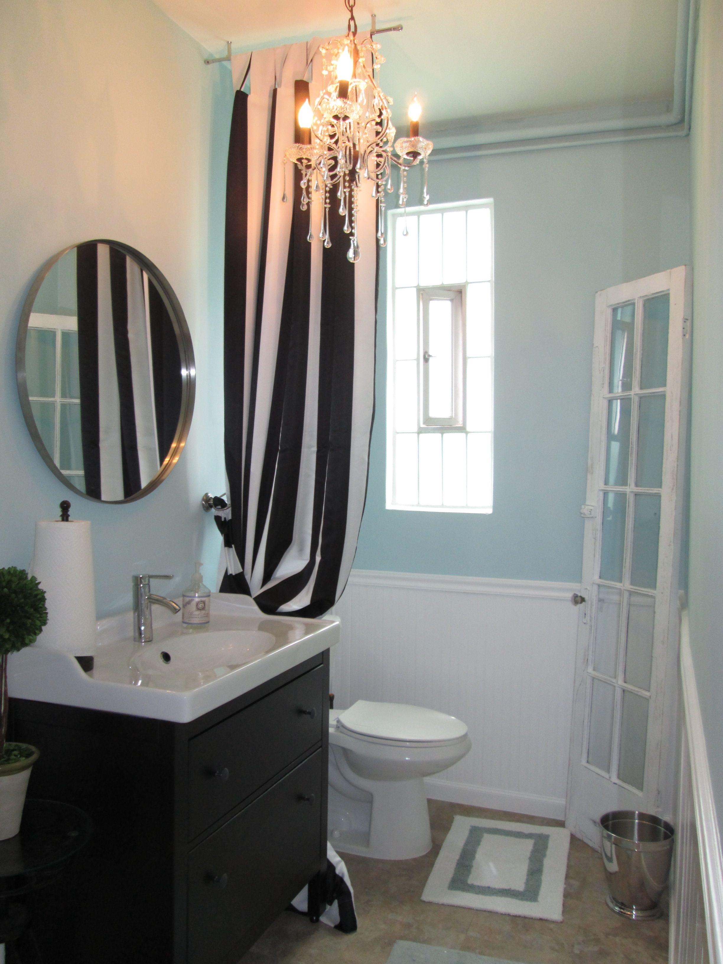 Photo Image Custom Bathroom remodel Smoothed Venetian Plaster walls wayne us cotting tiffany green paint
