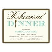 simple elegance rehearsal dinner invitations paperstyle wedding