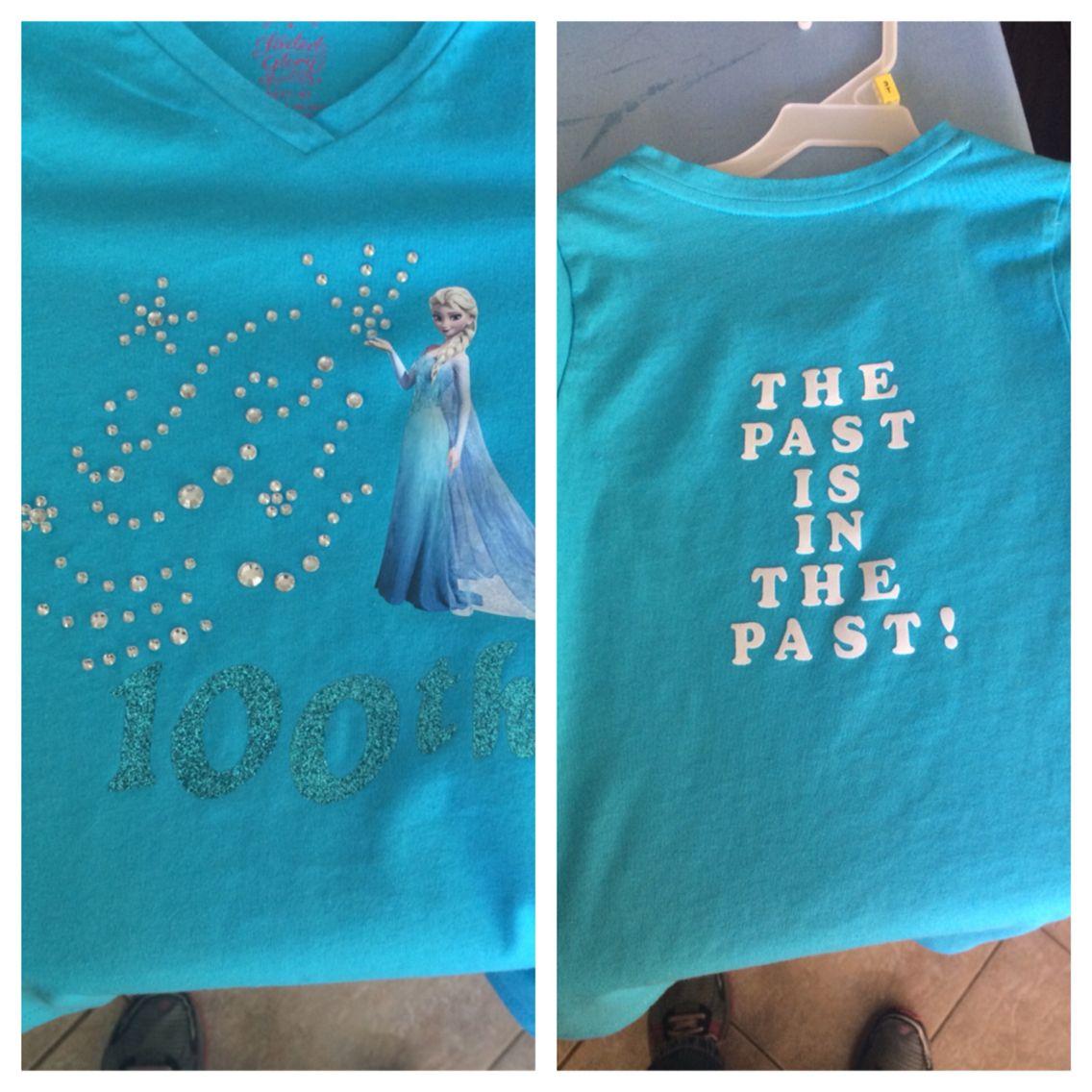 100th day of school shirt! Original design... Thank you very much ...
